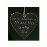 Personalised HEART Bauble